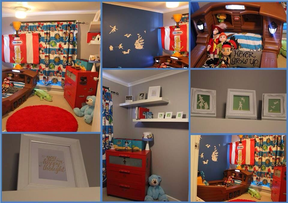 Neverland/jake The Pirate Bed Room