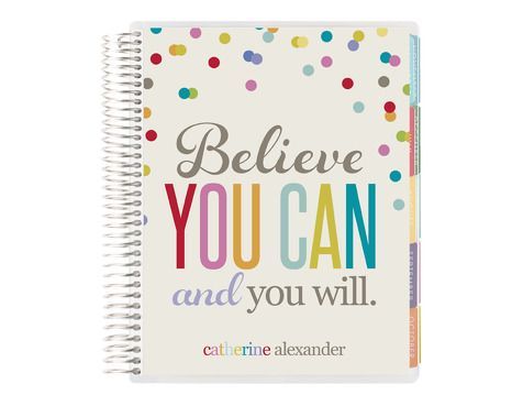 2015 life planner -believe you can