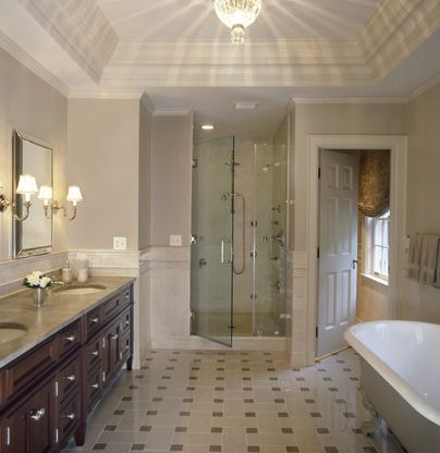 Master bathroom photos gallery commercial design robin Master en arquitectura de interiores