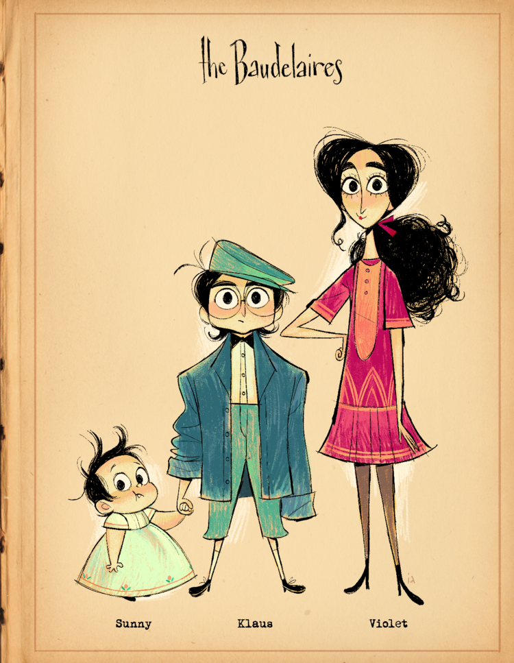 The Reptile Room Izzy Abreu A Series Of Unfortunate Events Reptile Room Character Design Inspiration