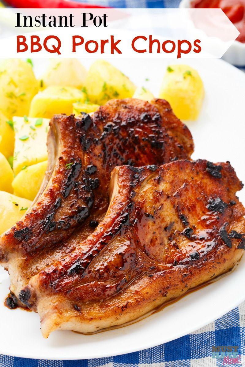 instant pot bbq pork chops | recipe | instant pot | pinterest