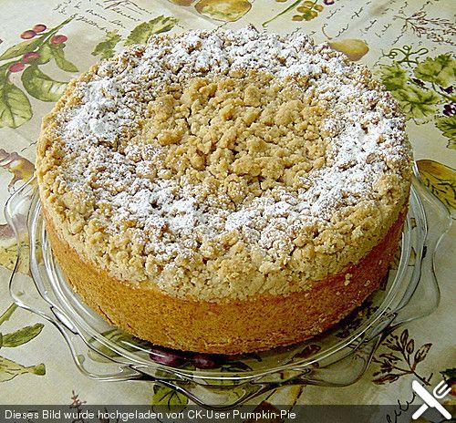 Deutsche Kuchen Rezepte: Schlesischer Apfel - Streusel Kuchen