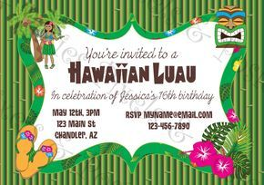 Custom Printable Party Invitation