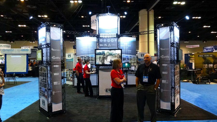 X Trade Show Displays CROSSwire Exhibits Portable Trade - Portable car show display stand