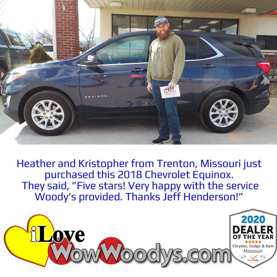 New Used Cars For Sale In Chillicothe Near Kansas City Mo In 2020 Chevrolet Equinox Five Star Automotive Group