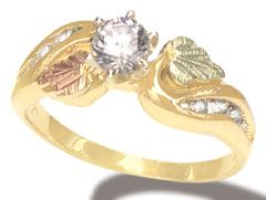 check out the deal on landstroms carat engagement ring only at black hills gold outlet - Black Hills Gold Wedding Rings