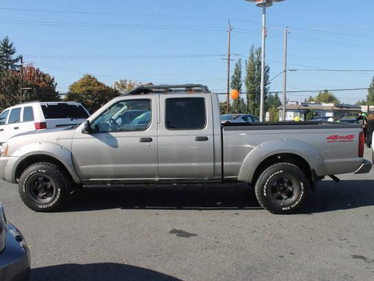 cars for sale 2004 nissan frontier 4x4 crew cab long bed in lynnwood wa 98087 truck details. Black Bedroom Furniture Sets. Home Design Ideas