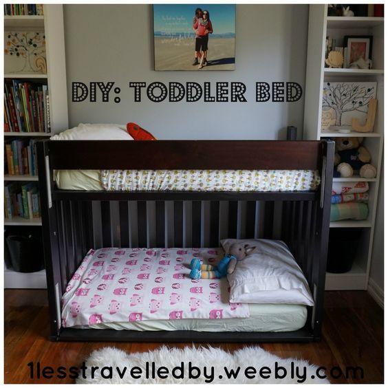 Diy Toddler Bunk Bed 1lesstravelledby Weebly Comliving A Toddler Loft Beds Diy Bunk Bed Toddler Bunk Beds