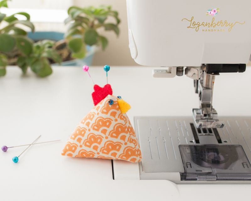 Chicken Pin Cushions Tutorial Free Sewing Pattern And Tutorial How