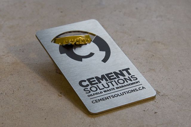 Cement solutions bottle opener business card business cards cement solutions bottle opener business card colourmoves