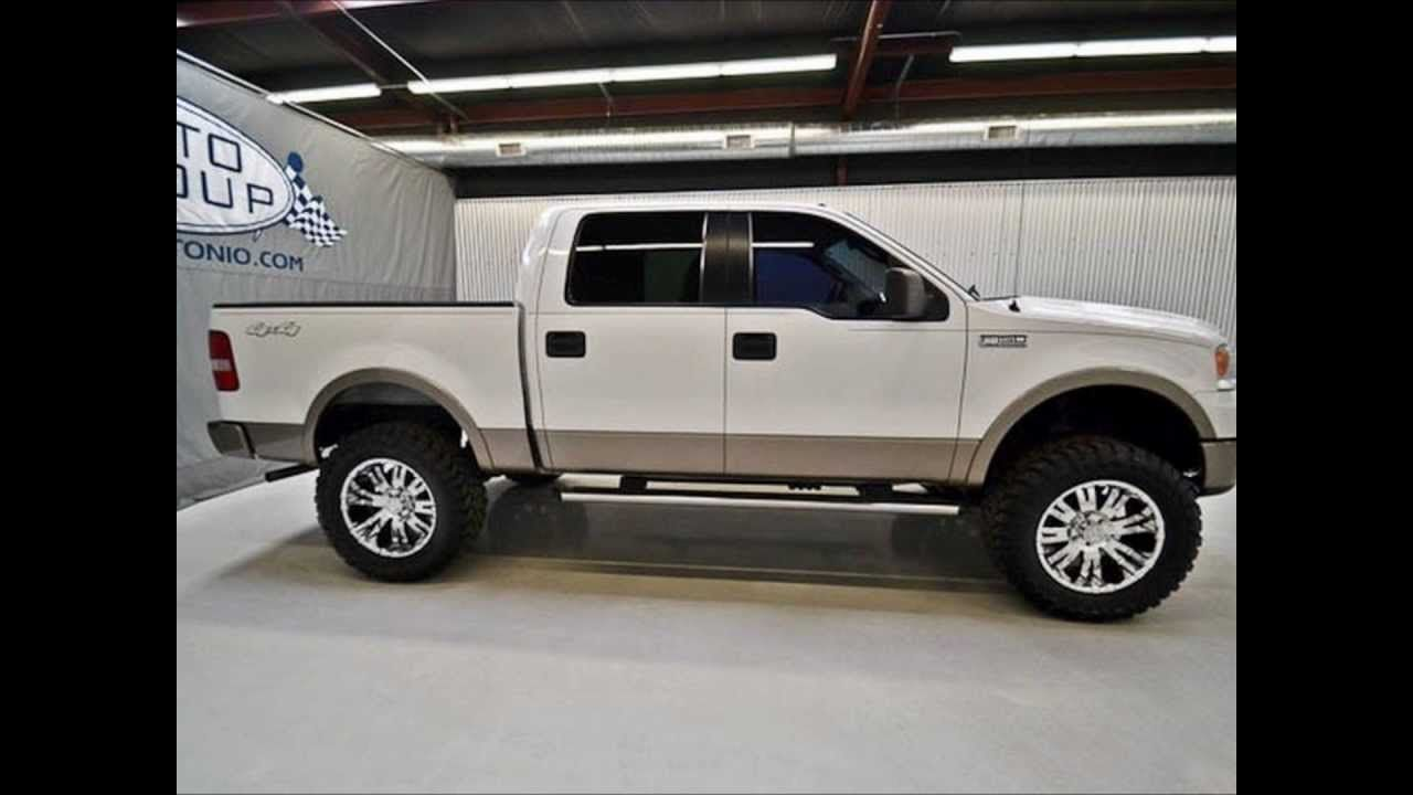 2006 ford f150 super crew lariat 4wd lifted truck for sale http www