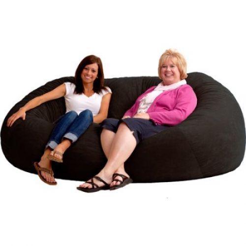 Fabulous Oversized Bean Bag Chair Large Beanbag Giant Cozy Love Seat Unemploymentrelief Wooden Chair Designs For Living Room Unemploymentrelieforg