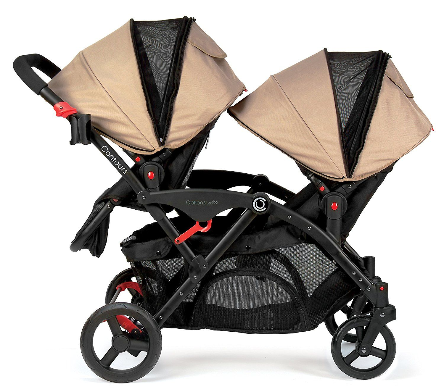 Amazon Contours Options Elite Tandem Stroller Sand Baby