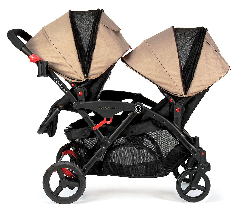 Amazon Contours Options Elite Tandem Stroller Sand Baby · Best Double
