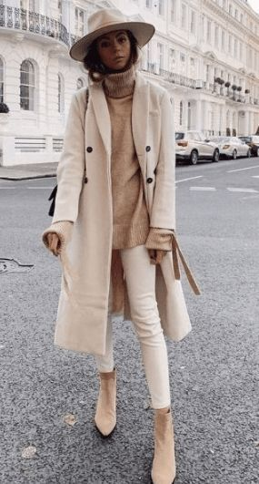 20 Casual Women Outfits to Wear During Winter 2020 – VivieHome – Festliches Outfit