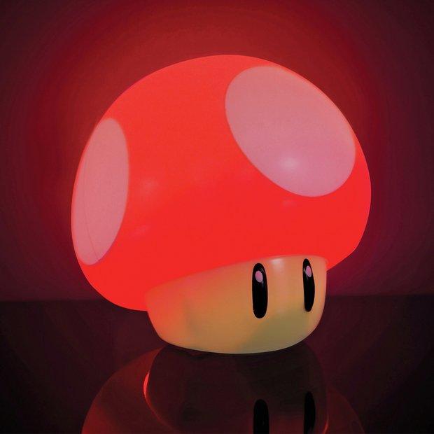 Buy Nintendo Super Mario Mushroom Light Novelty lights