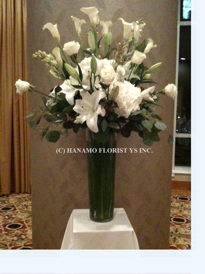 Tall White Flower Arrangements Google Search Amelies
