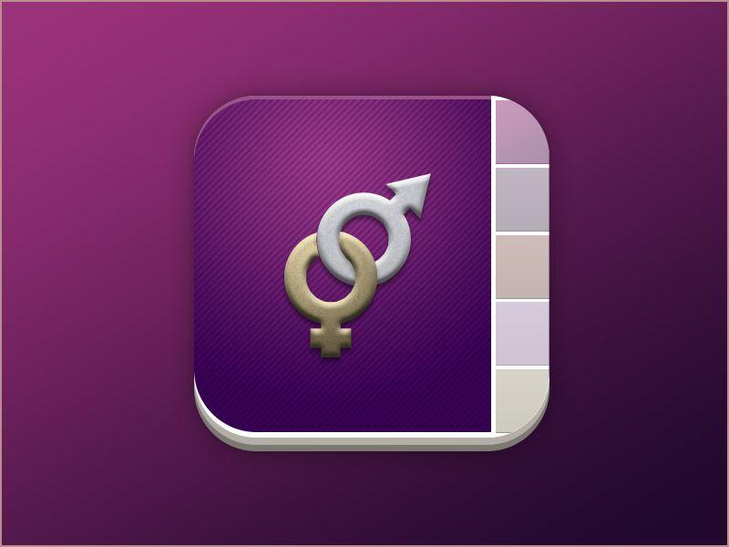 Dating app icon | App icon, Dating, App
