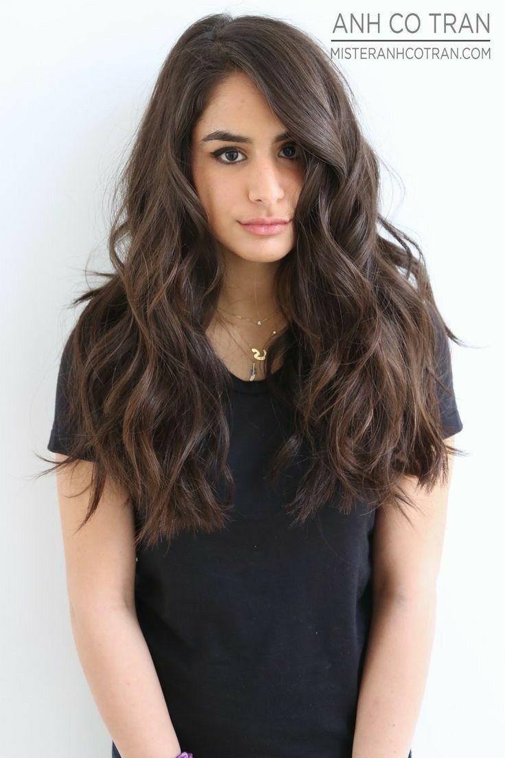 I love this hair length  Long hair styles, Long thick hair, Curls