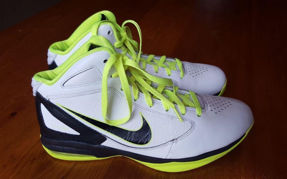 NIKE Air Max Destiny men s Basketball shoe sz 10 Neon VOLT  fashion   clothing   137ed13a7