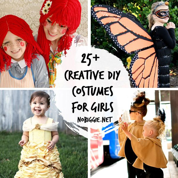 25+ DIY Halloween costume ideas for girls