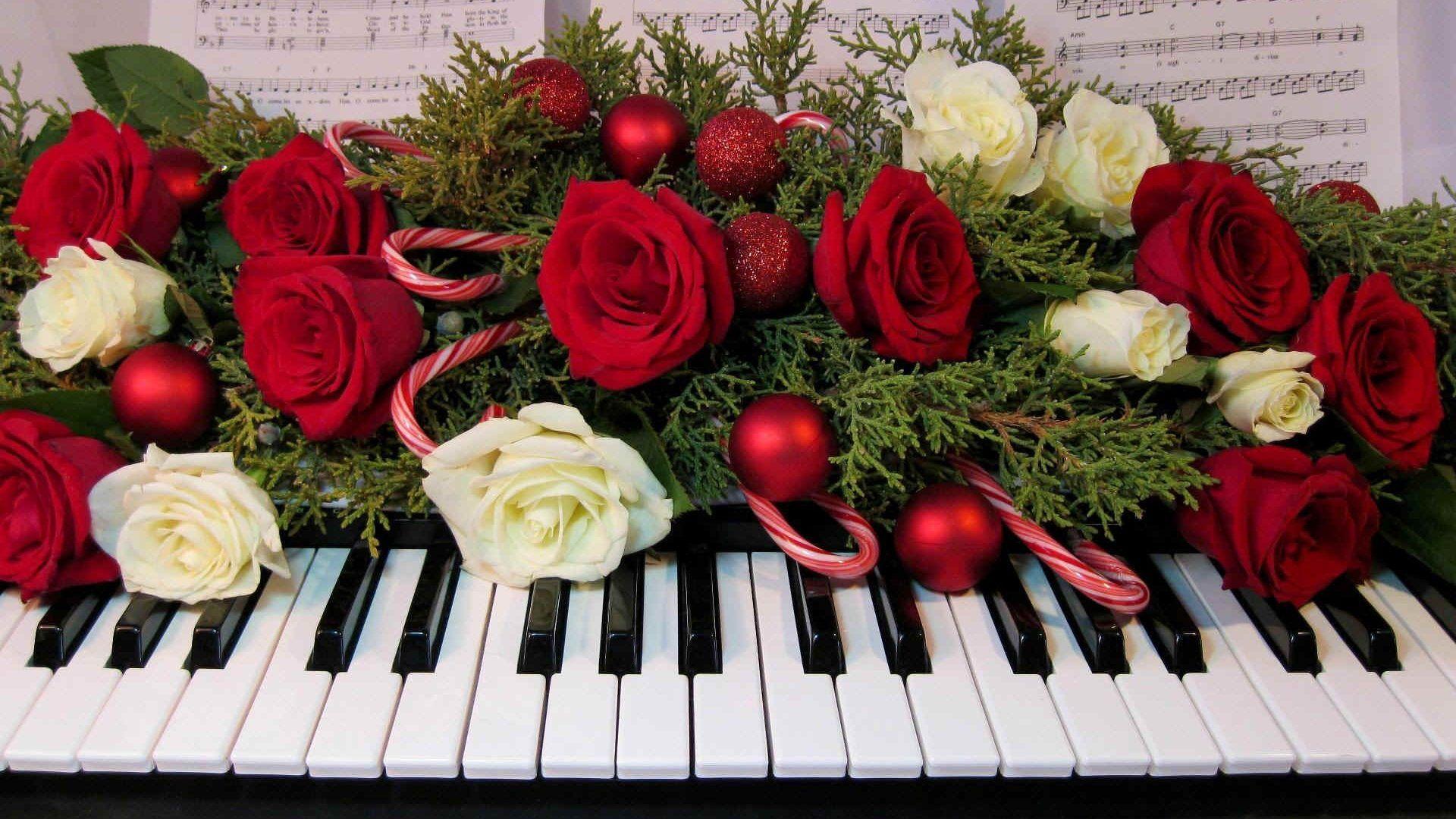 Дню, картинка с днем рождения с пианино
