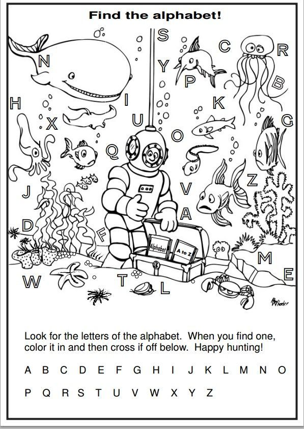 Alphabet Review Coloring Pages : Image result for abc review worksheets preschool summer