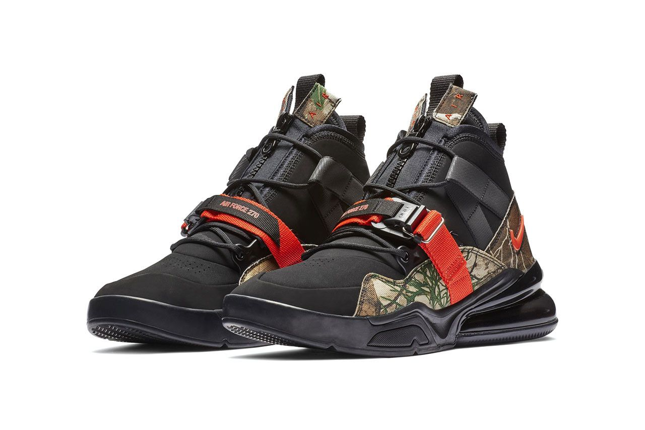 Nike's Air Force 270 Receives a Realtree Remaster | Black