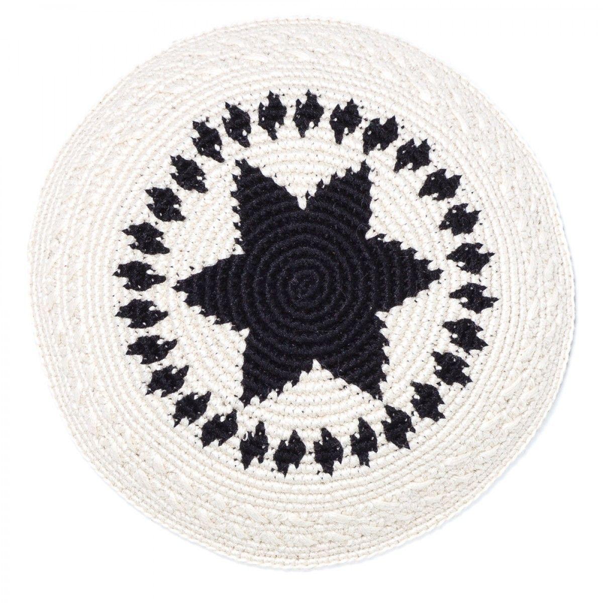 Fair Trade Handmade Tuxedo Kippot/Yarmulkes   Crochet and Patterns