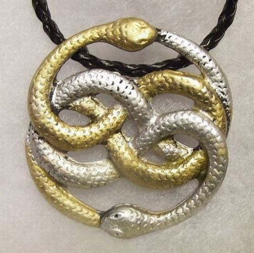 Details about auryn the never ending neverending story amulet auryn the never ending neverending story amulet necklace pendant snake mozeypictures Choice Image