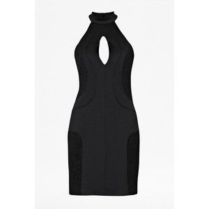 French Connection Scubalicious Halter Fitted Dress