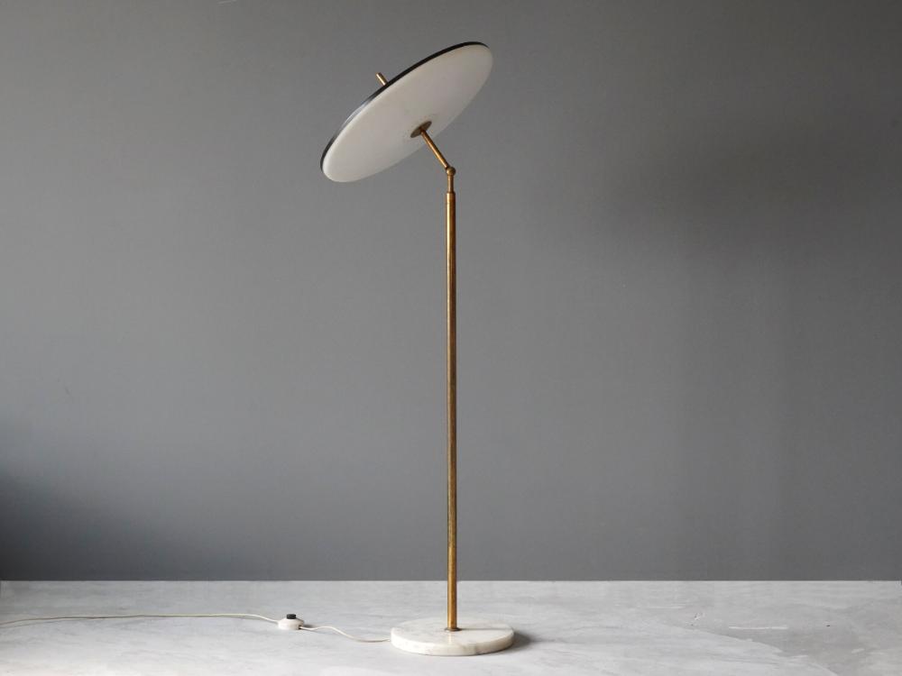 Lumen Milano Floor Lamp Ponce Berga In 2020 Floor Lamp Lamp Brass Floor Lamp
