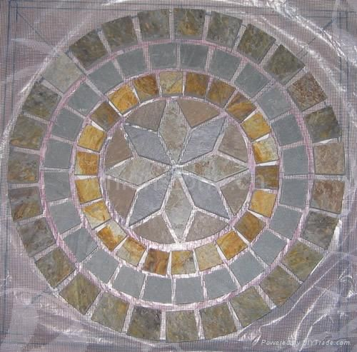 Slate Mosaic For Entry Or Porch