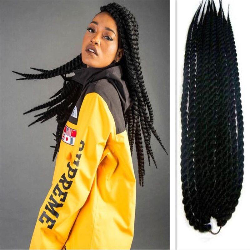 Hot Sell Havana Mambo Twist Crochet Braids Hair Different Size