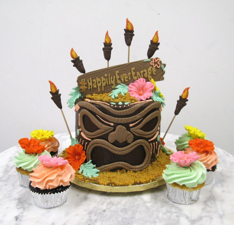 Aloha 30 tiki cake hawaiian cake hawaiian birthday cakes