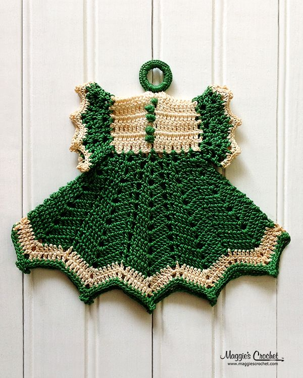 crochet-vintage-potholder-maggiescrochet-maggie-weldon-dress- 023 ...