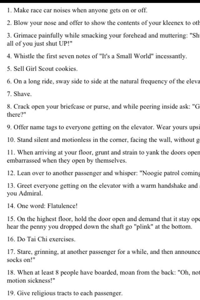 881ce5135 Funny things to do in an elevator I cracked up | Funny | Funny ...