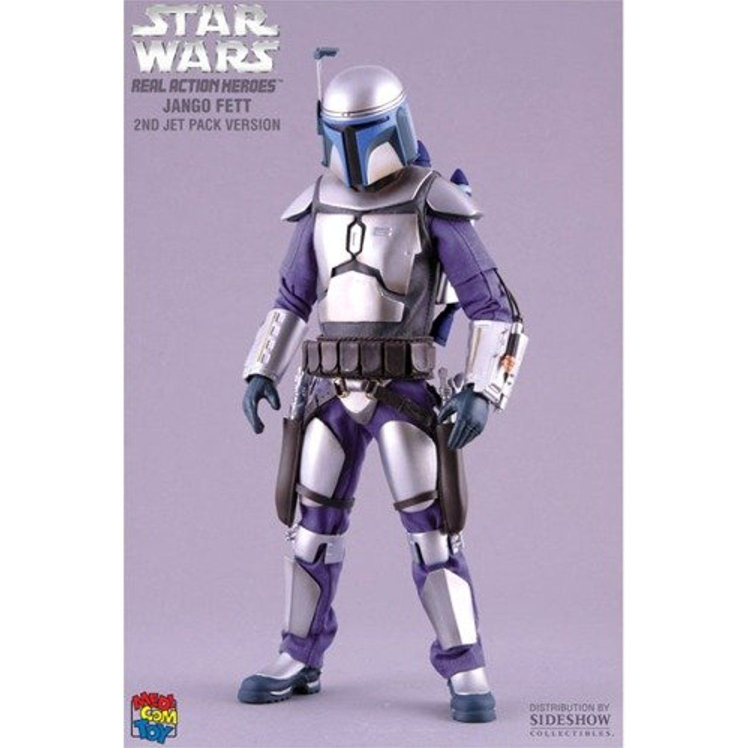 Jango Fett 2nd Jet Pack Star Wars Real Action Hero Sixth