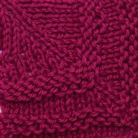 How To Knit Mitred Squares Free Pattern Knitting Squares Shawl