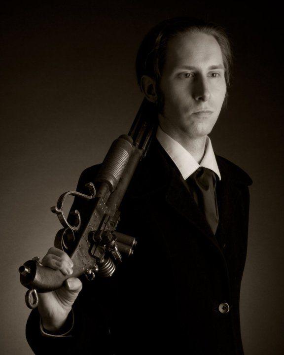 """Jonas Marlowe 'get your gun' version in """"I figli del pozzo di carne' (inspired to G.D. Falksen)"""