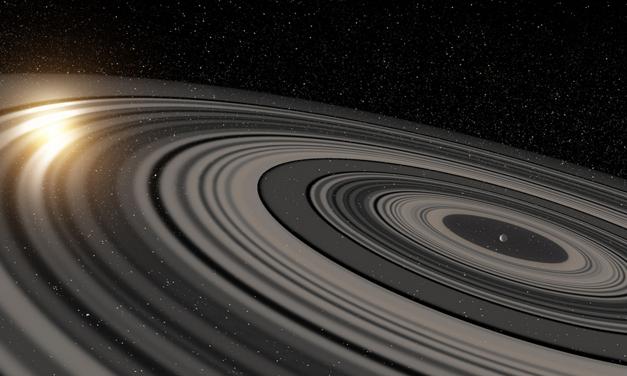 This Super Saturn Alien Planet Might Be The New Lord Of The Rings Planets Planetary Rings Saturn