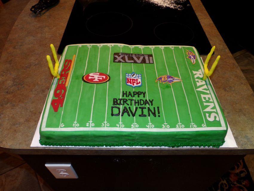 NFL SUPERBOWL XLVII 2013 49ERS VS RAVENS FOOTBALL FIELD ...
