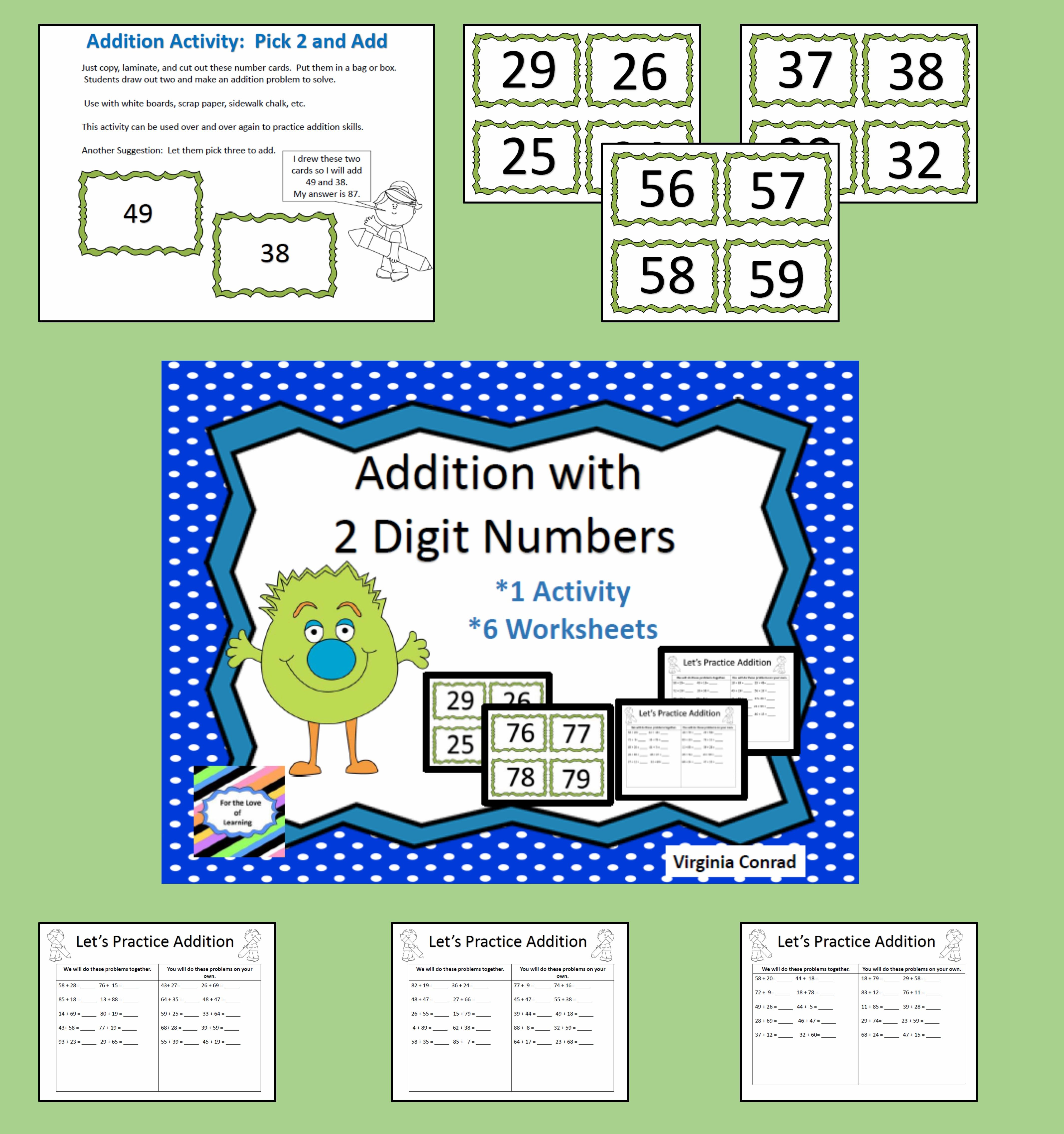 Get kiddos practicing their addition skills with regrouping with ...