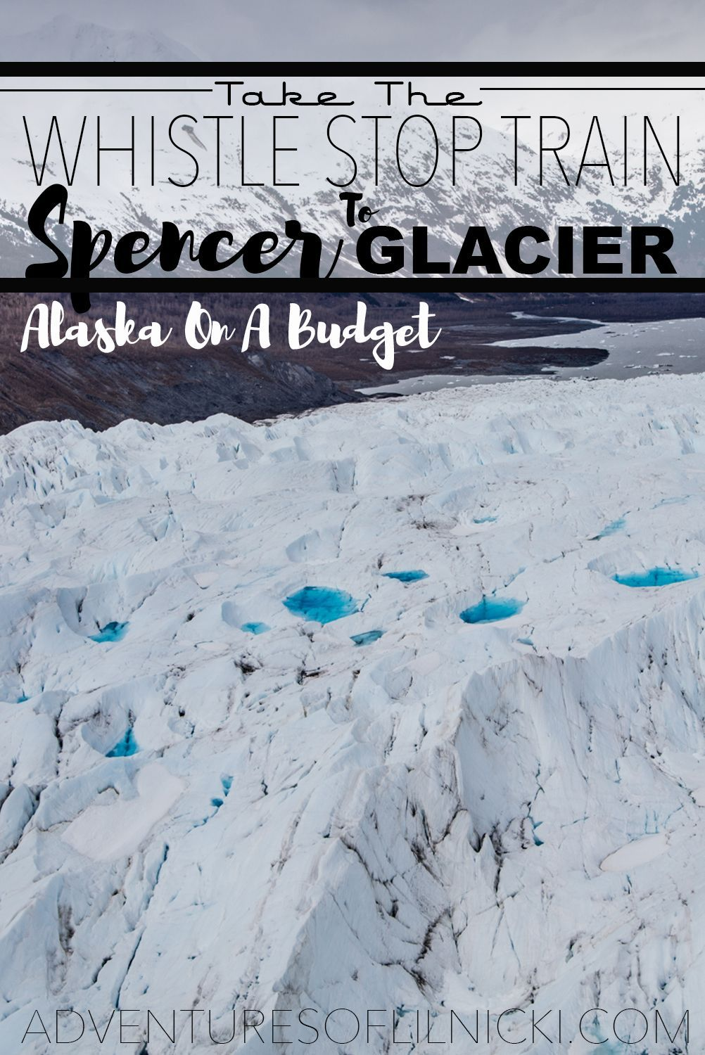 Want to visit Spencer Glacier just outside of Anchorage