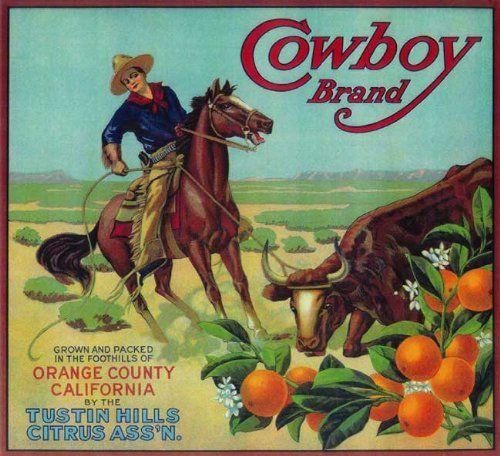 Corona Riverside California Brer Rabbit Orange Citrus Fruit Crate Label Print