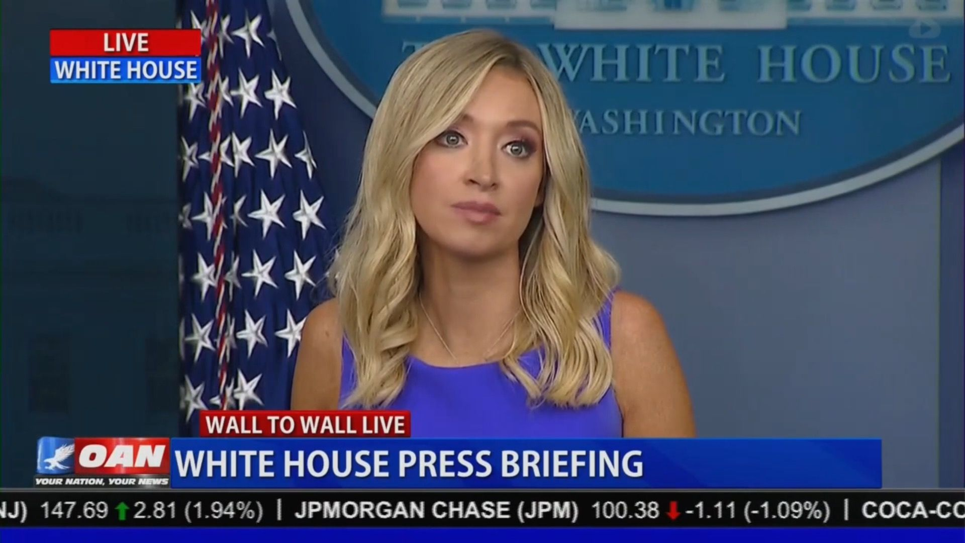 During White House Briefing Oan Correspondent Suggests Trump Lawyers Depose Joe Scarborough Over Conspiracy In 2020 Kayleigh Mcenany Joe Scarborough One America News
