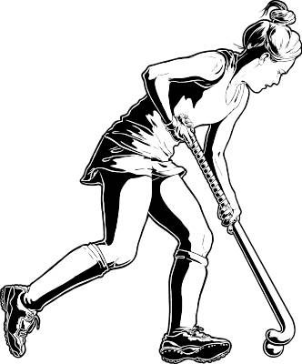 Field Hockey Clipart Image Field Hockey Field Hockey Girls Hockey
