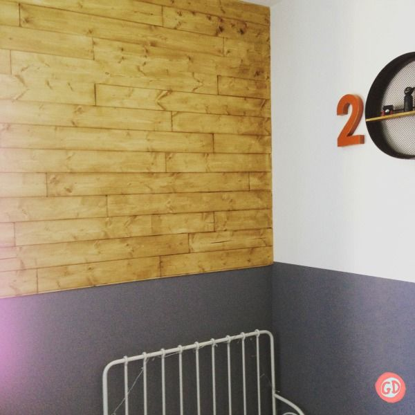 HOW TO MAKE A WOODEN FEATURE WALL | Timber flooring, Plank and Walls