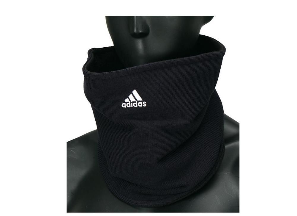 Adidas Football Fleece Neck Warmer W67131 Soccer Sports Free Size Unisex  Black #Adidas