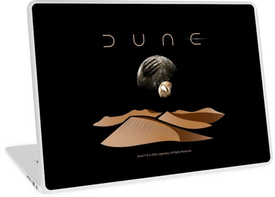 Dune Landscape With Moons Of Arrakis Macbook Air 13 2015 By Reconocer Dune Vinyl Decal Stickers Vibrant Colors